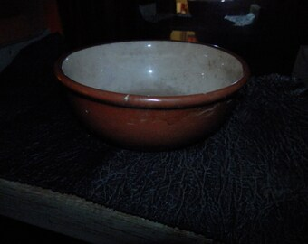 Weller Red Clay Pottery Bowl