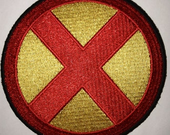 X-Men Yellow  iron on  or sew on patch