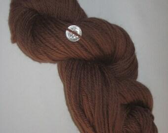 Tapestry Wool, Chocolate Brown, 4-ply, 125+ yds each skein