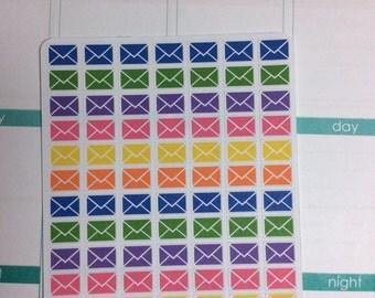 Mail stickers - set of 77 -  for your EC planner