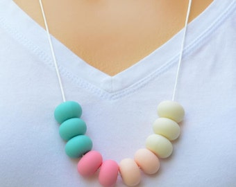 Teething Necklace - Ice Cream