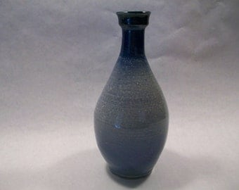 Earthenware Blue Vase