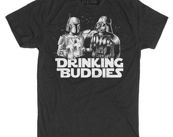Darth Vader Shirt Boba Fett Men's Shirt Star Wars T-Shirt
