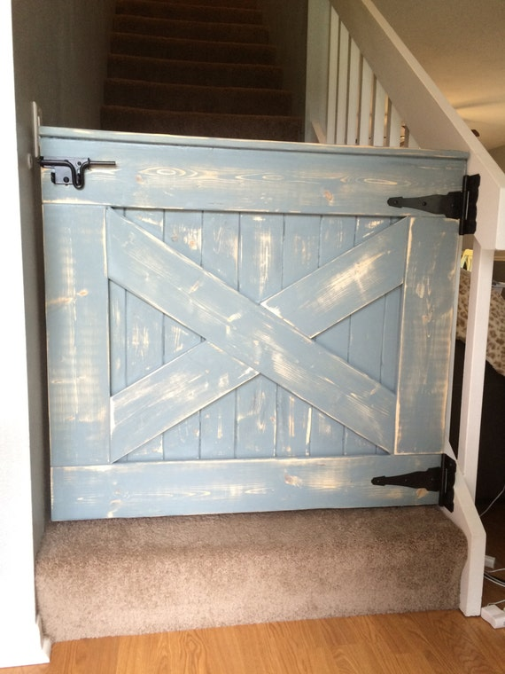 Items Similar To Baby Gate Pet Gate Shabby Chic Farmhouse