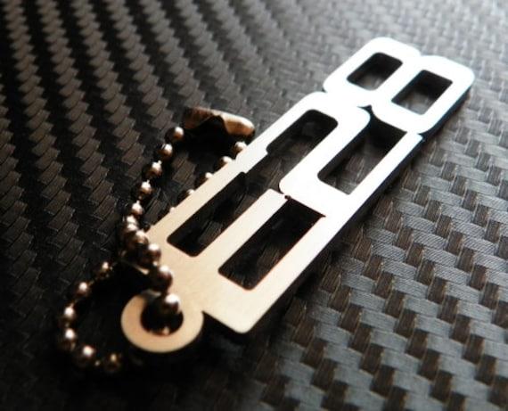 BMW E28 Keychain key tag
