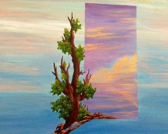 Original acrylic painting from Florida