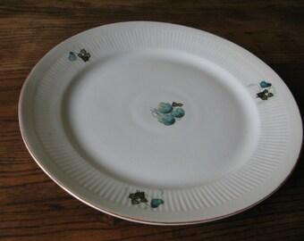 Vintage serving porcelain platter
