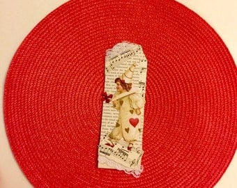Music bookmark, vintage bookmarks