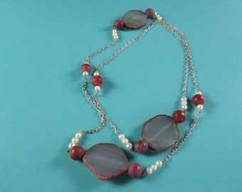 Into The Agate Long Necklace