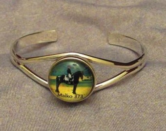 Friesian Horse charm bracelet so you can take your love of horses with you everywhere