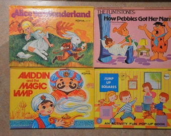Collection of Vintage Pop up Books