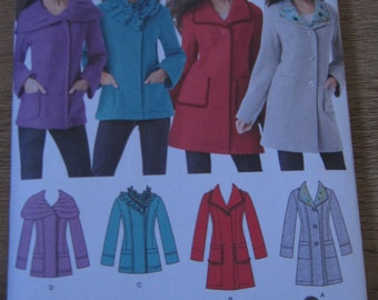Simplicity 1540 coat or jacket pattern