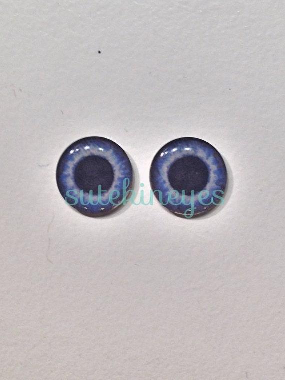 Pullip taeyang eyechips eyeships blue grey bleu gris eyes yeux - Yeux gris bleu ...