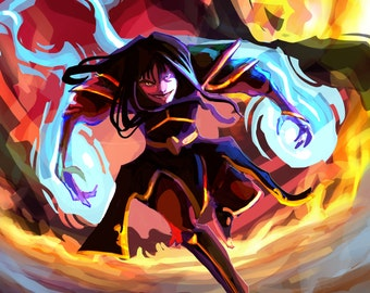 Crazy Azula Avatar the Last Airbender