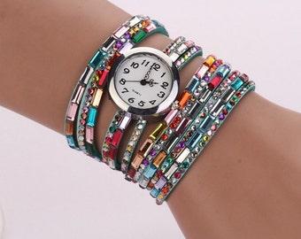 Wrap Women Watch-Bracalet Watch