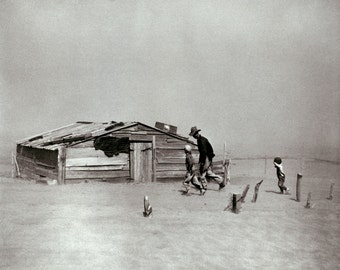"Arthur Rothstein Photo, ""Cimarron County, OK."" 1936 Dust Bowl"