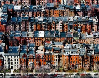 "Neil Reichline Photo ""Back Bay, Boston"" 13x19"", city view, architecture"