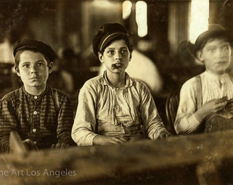 "Lewis Hine Photo ""Cigarmakers"" Tampa Florida, 1909"