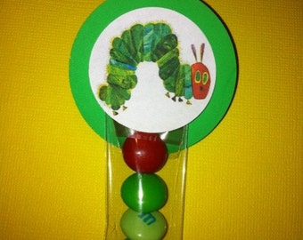 Hungry Caterpillar Inspired Party Favor