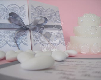 Marriage involvement in Pearl paper handmade and fully customizable, even with a design on request