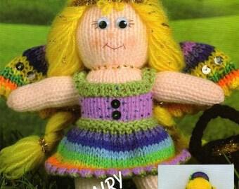 Rainbow fairy knitting pattern