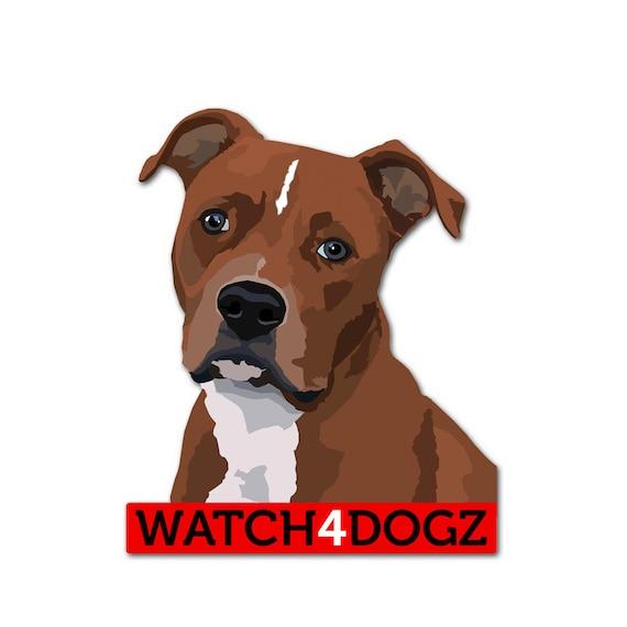 Stafford Dog Decal Sticker Set Of 2 By Watch4dogz On Etsy