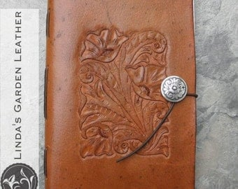 Handmade Leather Western Journal or Sketchbook
