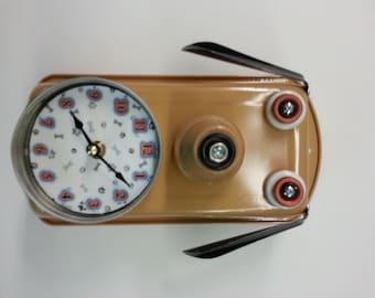 Handmade Dog Clock