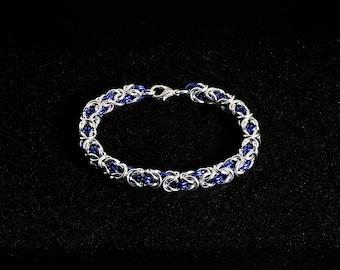Byzantine Bracelet- Aluminum