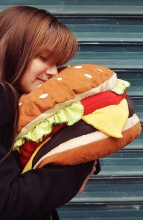 Coussin burger