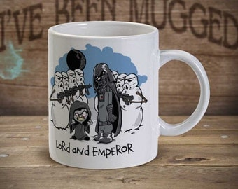 Lord And Emperor - SD1089 - Star wars Calvin and Hobbes Parody Coffee Mug