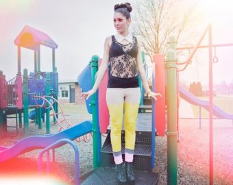 Limited Edition New York Couture PLAYGROUND Collection PENCIL Leggings