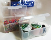 DOT BOX Large Long - 2 per pack #4075 (beads & thread not included)