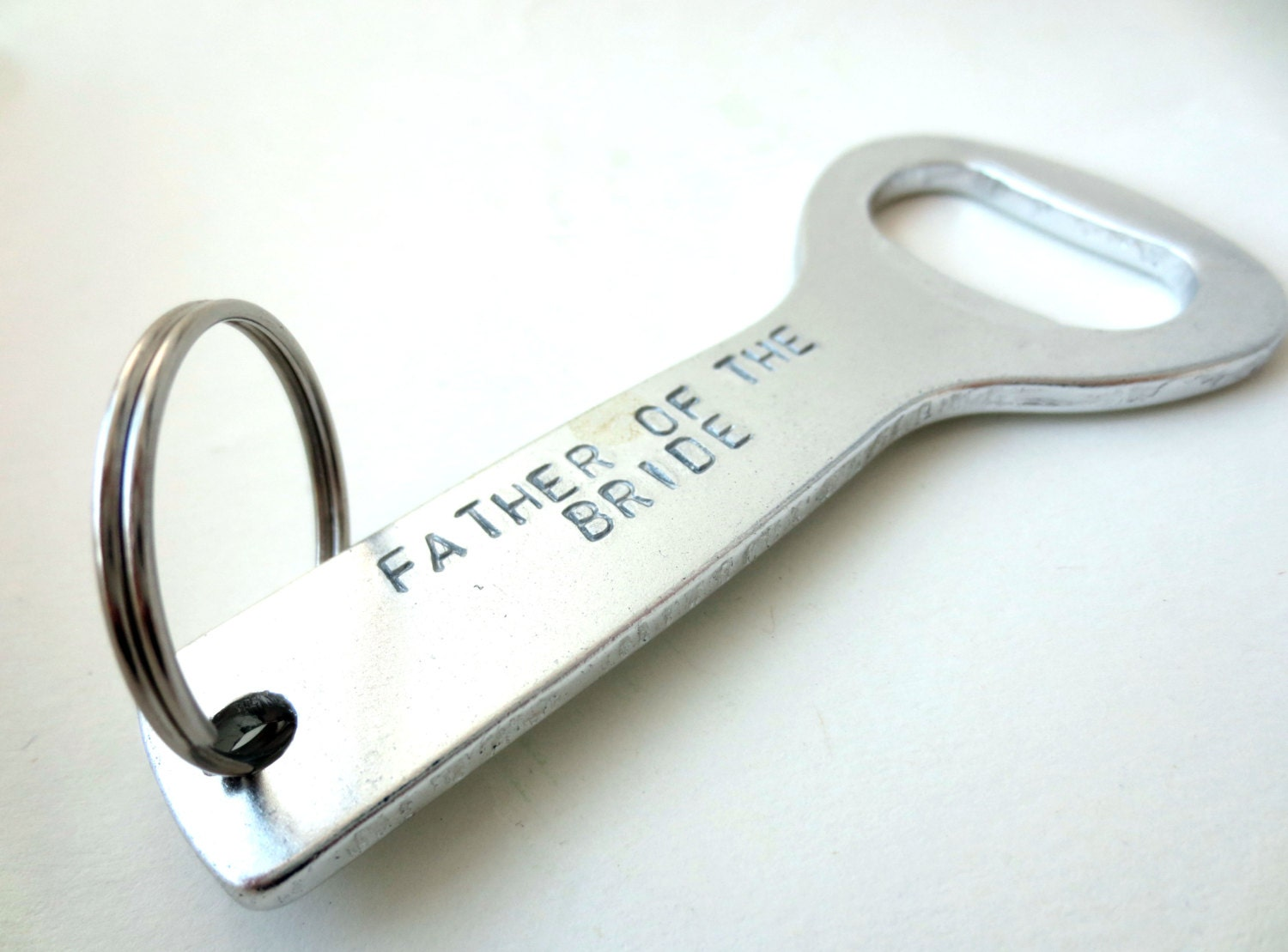 personalized bottle opener keychain groomsmen groom father of. Black Bedroom Furniture Sets. Home Design Ideas
