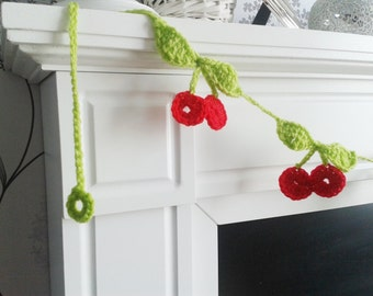 Cherry Garland Crochet Pattern pdf