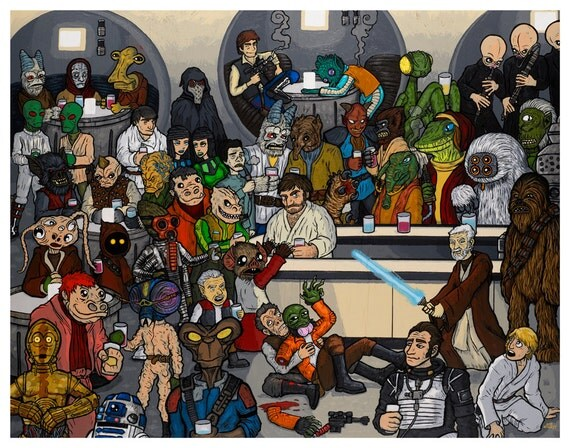 mos eisley and coloring pages - photo#5