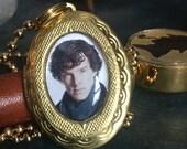 Baker St. Detective locket
