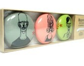 magnet set of zombies numbers b + c + e. (3pk)