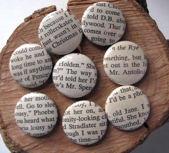The Catcher in the Rye - Book - Magnets (set of eight) - J.D. Salinger
