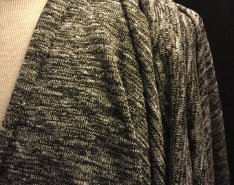 Jersey Knit Fabric 1 Yard Speckled Texture
