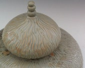 Handmade Urn - Hand Carved Urn - One of a kind Urn - Ready to Ship