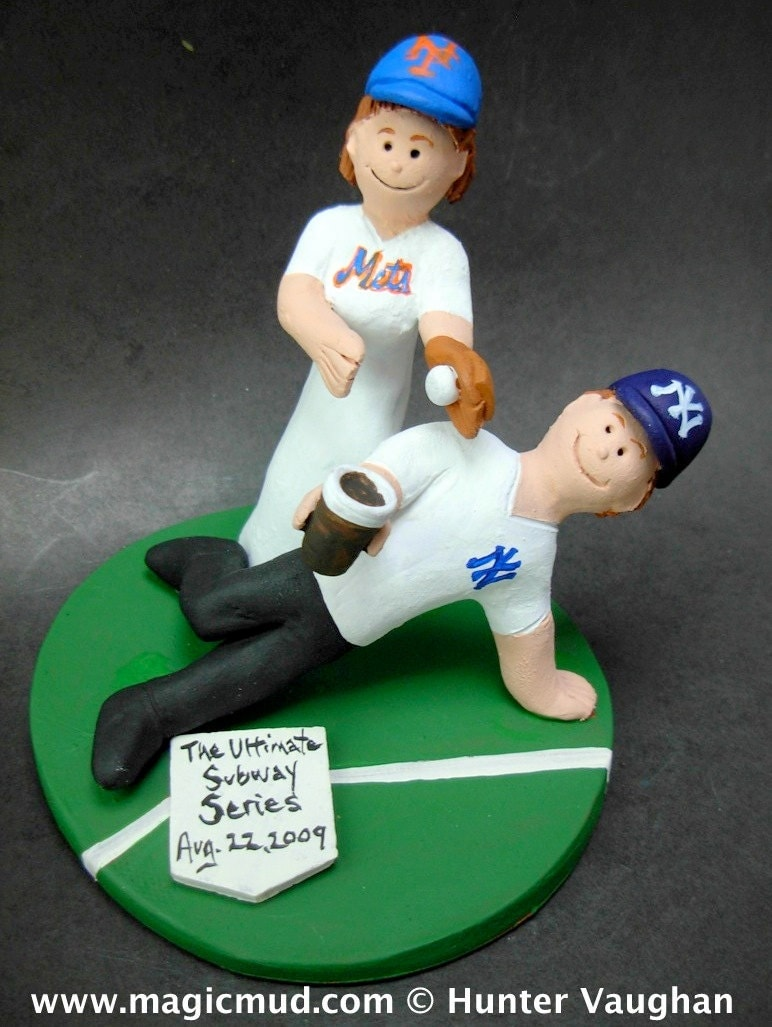 Baseball Wedding CakeTopper Gallery Photo