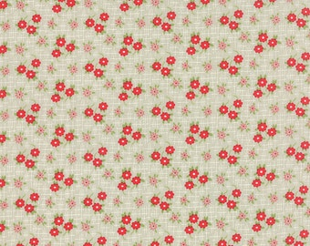 SALE - Daysail - Meadow in Gray: sku 55104-17 cotton quilting fabric by Bonnie and Camille for Moda Fabrics - 1 yard