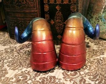 Rainbow Ram Fairy Costume Horns - Made to Order