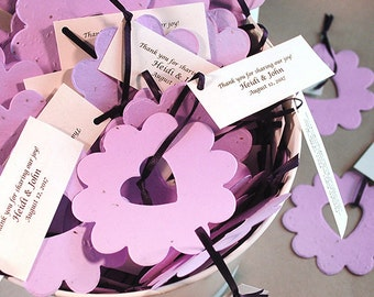 100 Piece Bucket of Love© Plantable Flower Seed Wedding Favors