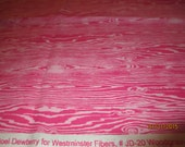 Joel Dewberry Woodgrain Pattern in Hot  Pink and Light Pink shades of Cotton Fabric Girls