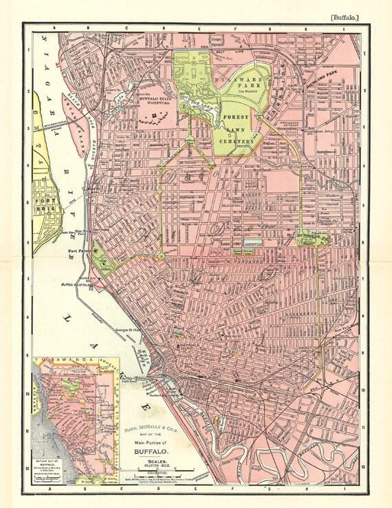 Buffalo city map