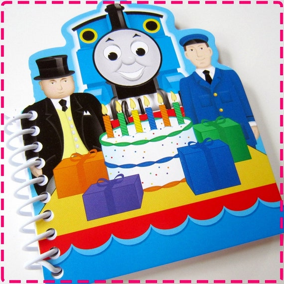 TRAIN Notepad Notebook Journal, Birthday Party Favors Small Blank Coloring Book Notepad Eco-Friendly Arts & Crafts Boys and Girls Kids