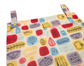 What's Cookin' 13x20 kitchen wetbag - ecofriendly laundry storage for the sustainable kitchen
