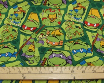 MadieBs Ninja Turtles Bumpers, Crib Skirt and Crib Sheet